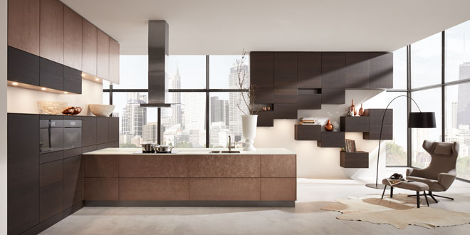 Hacker Kitchens, Open Kitchen, statement, sophisticated kitchen, modern  fitted kitchen.