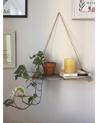 Hanging Shelves, Hanging Shelf, Wall Shelf, Rope Shelf, Rustic Shelves
