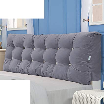 Traveller Location: JGXVUYKDFV Bed Soft Pack/Fabric headboard Cover/Tatami  Pillow/Double Cushion/Large backrest Cushion/Cushion-C  180x58x15cm(71x23x6): Home &