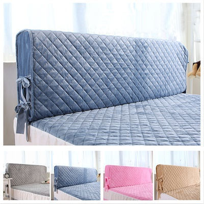 All Size bed Headboard Cover bed cover dust cover simple plush removable  washable soft Headboard protective