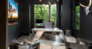 Photo by Rosewood Custom Builders - Discover industrial home office design  ideas