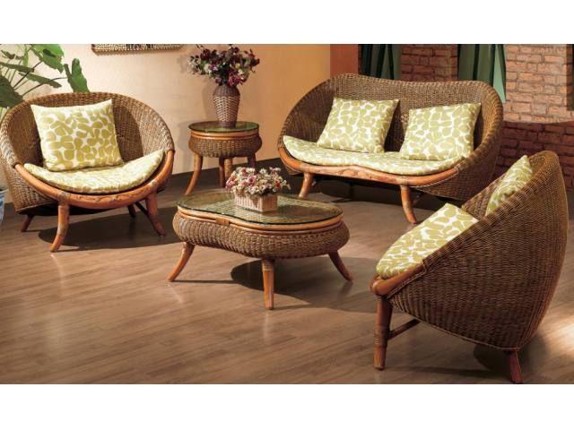 Complete Rattan Furniture Indoor