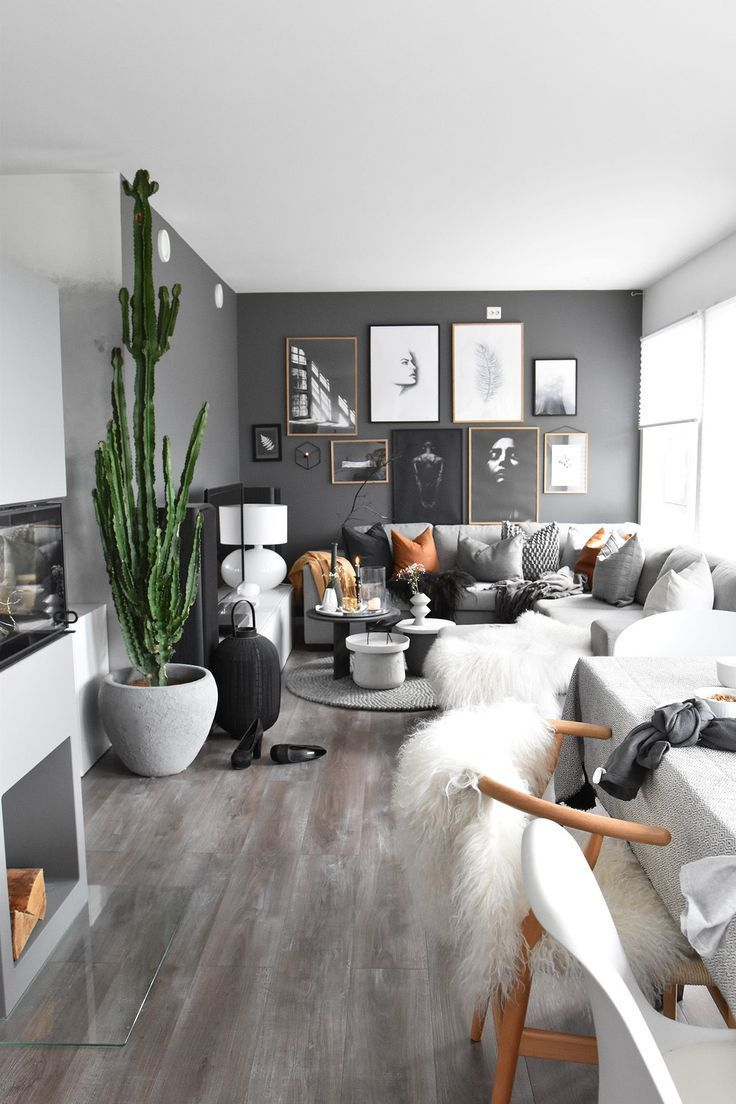 Browse interior design ideas for a grey living room, with a wide range of decorating  ideas featuring favourite designer homeware brands, and find design