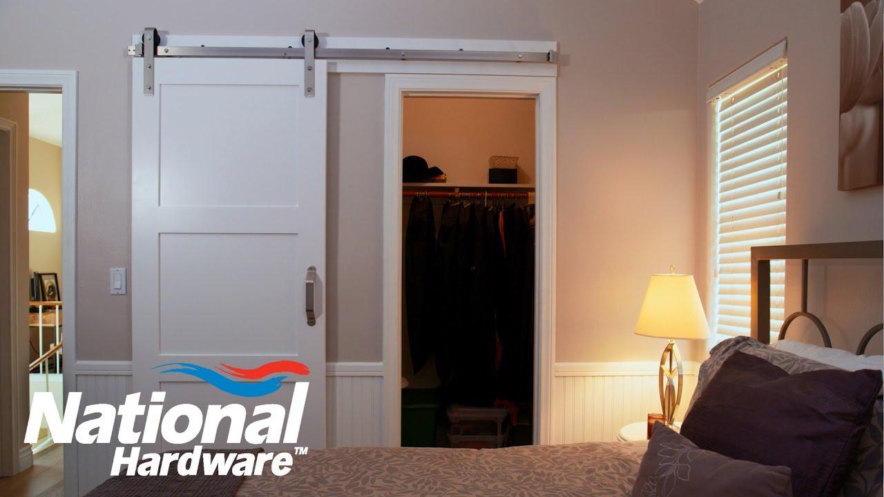 Easy DIY Project - Interior Sliding Door Kit Installation | National  Hardware
