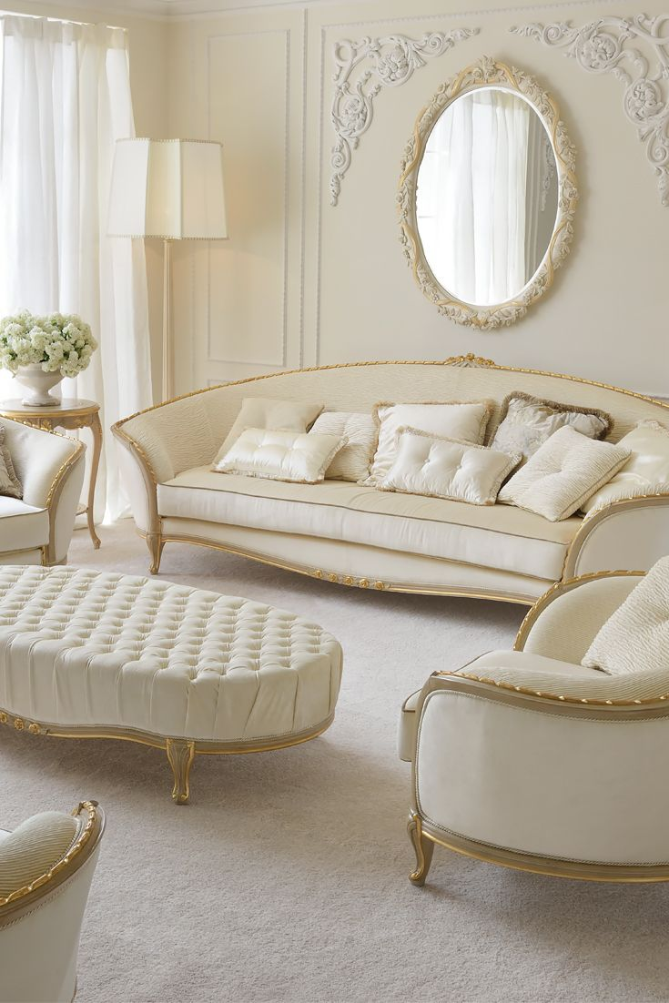 Our Luxury Italian Furniture Collection contains luxury pieces, soft lines  with palatial designs offering high quality classic Italian furniture with