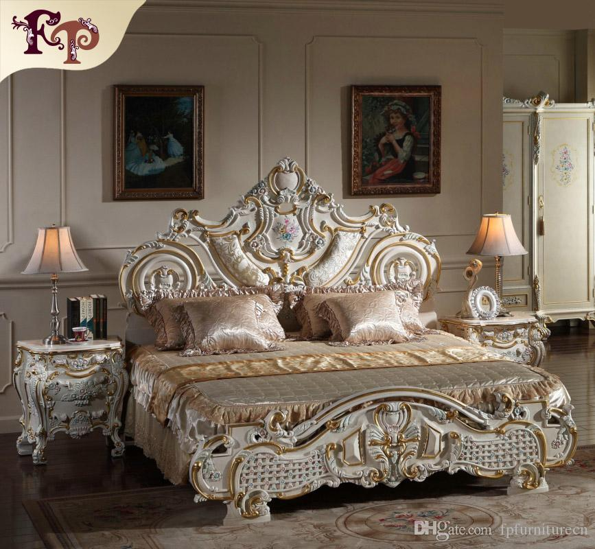 2019 French Rococo Classic European Furniture Solid Wood Baroque Leaf  Gilding Bed Luxury Italian Furniture From Fpfurniturecn, $3710.56 |  Traveller Location