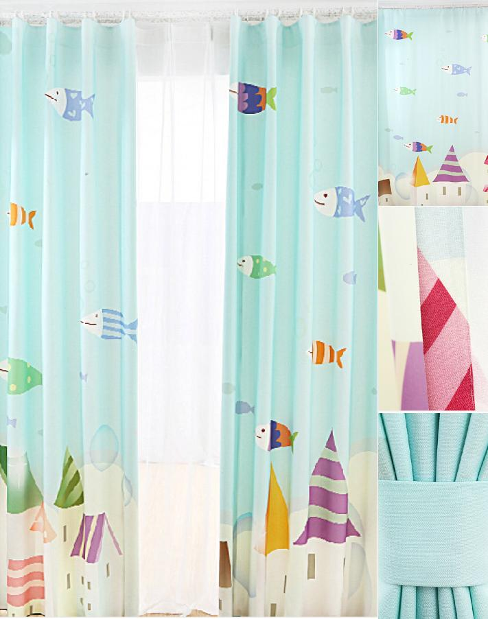 Lovely-Fish-Teal-Color-Blackout-Nursery-Curtains-For-Kids -CMT13801-1-merge.jpg