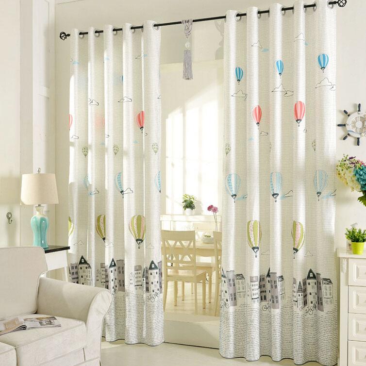 Printed-Air-Balloon-Pattern-Beige-PolyCotton-Blend-Kids-Curtains -CMT17001-1.jpg