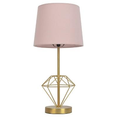Wire Diamond Table Lamp - Pillowfort™
