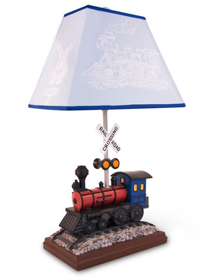 Train, decor, train, lamp, Train, light, by, All, Kids, Lamps, baby and kids  lighting by All Kids Lamps.
