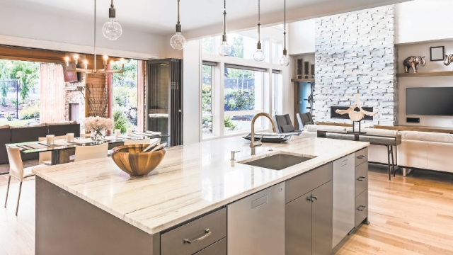 Want to make a statement in your kitchen? Let your countertops do the  talking.