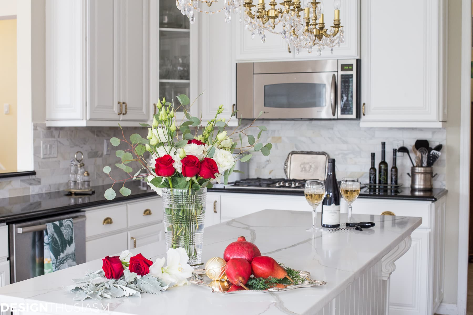 French Country Christmas kitchen decor - Traveller Location