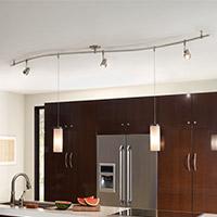 Kitchen Lighting Track & Monorail Lighting