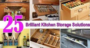 25 Brilliant Kitchen Storage Solutions