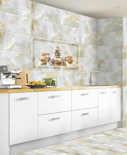 Digital Ceramic 10x15 Kitchen Wall Tiles, Thickness: 8 - 10 mm