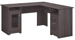 Image Unavailable. Image not available for. Color: Bush Furniture Cabot L  Shaped Computer