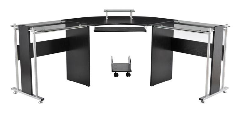 Freeport Modern L-Shaped Computer Desk