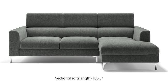 Chelsea Adjustable Sectional Sofa (Grey) (Grey, None Custom Set - Sofas,