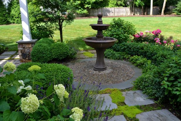 Garden Fountain Feature