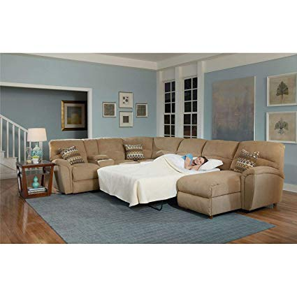 Amazon.com: Lane Furniture Modern Robert 4-Piece Reclining Sectional