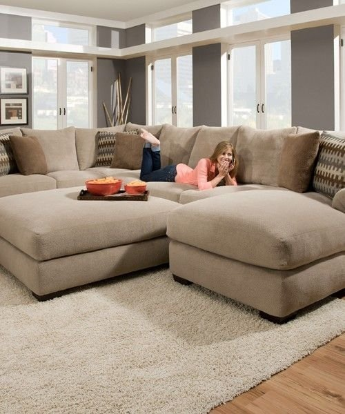 Extra large sectional sofa with chaise | SOFAS & FUTONS