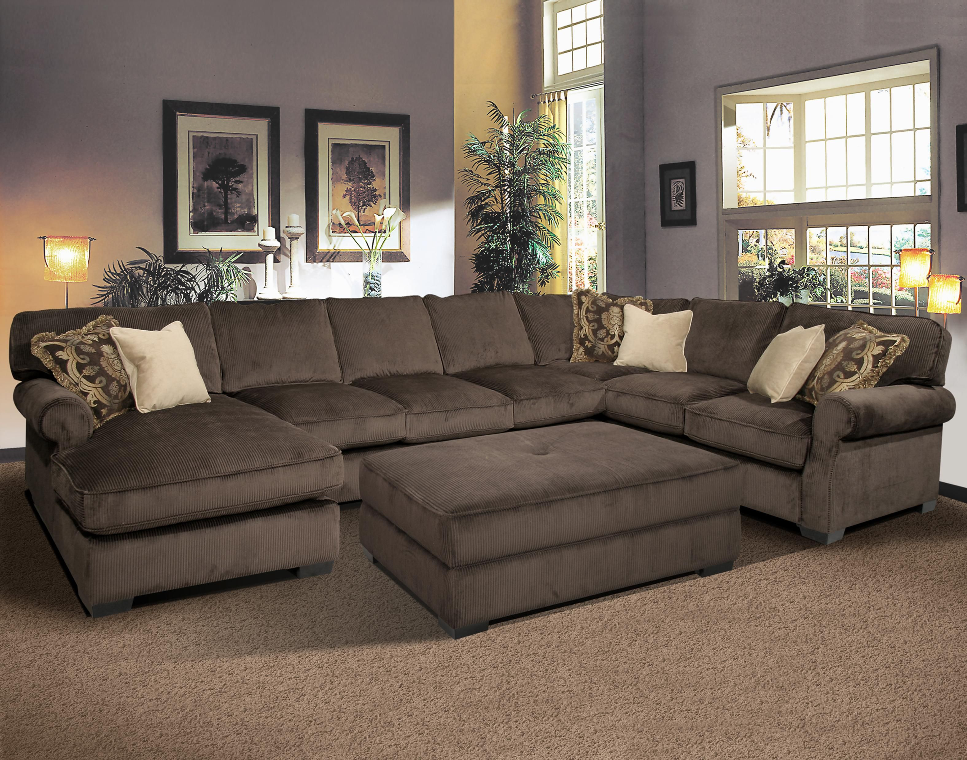 Grand Island Oversized Cocktail Ottoman for Sectional Sofa by Fairmont  Seating - Ruby Gordon Home Furnishings - Ottoman Rochester, Henrietta,  Monroe County,