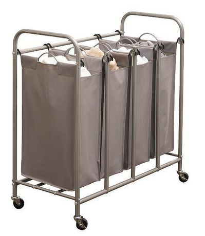 hometrends 4-Bin Laundry Sorter - image 1 of 2