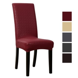 Buy Faux Leather Chair Covers & Slipcovers Online at Overstock | Our Best  Slipcovers & Furniture Covers Deals