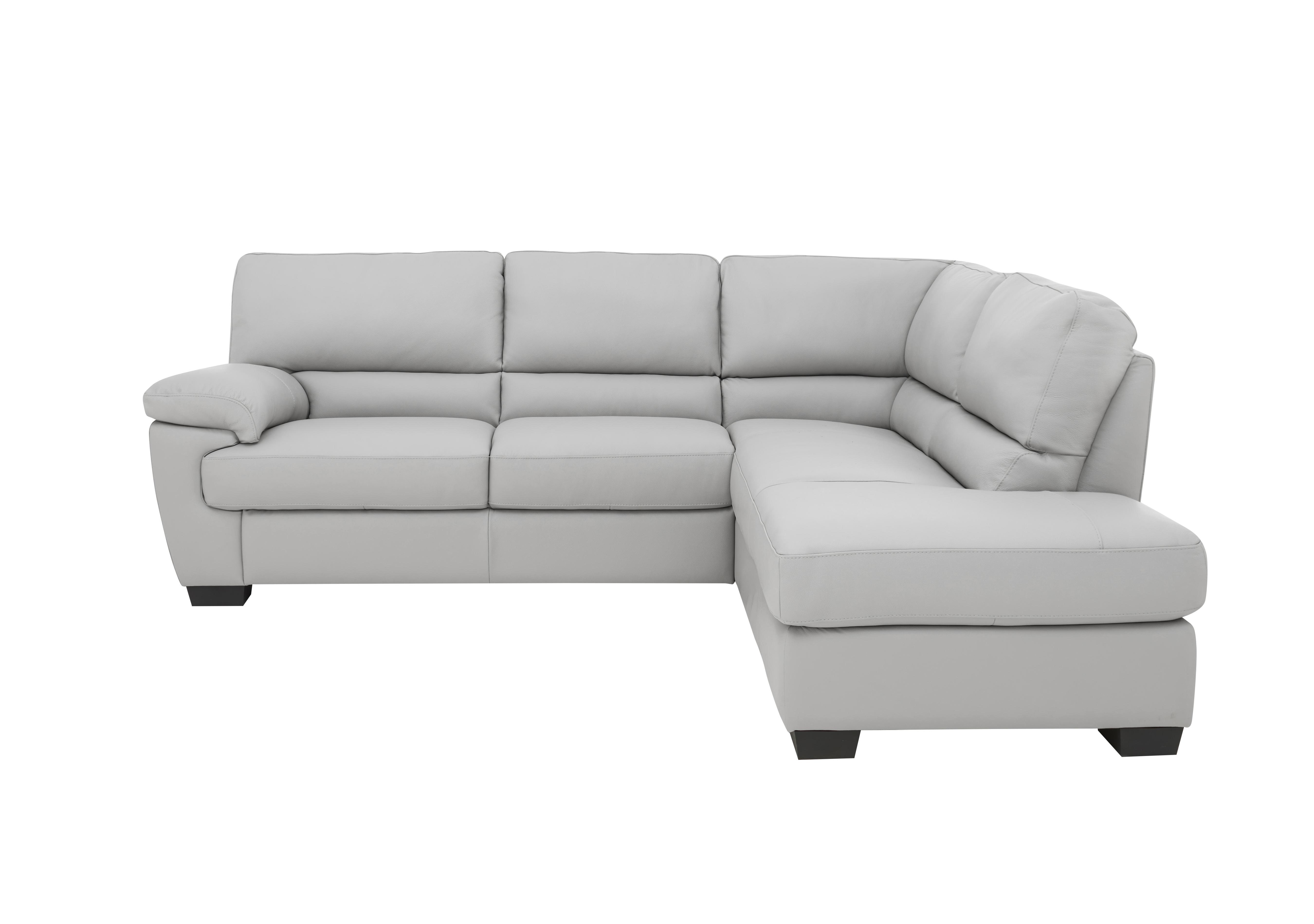 Extra 20% off - use code TREAT20. Lazio Leather Corner Sofa
