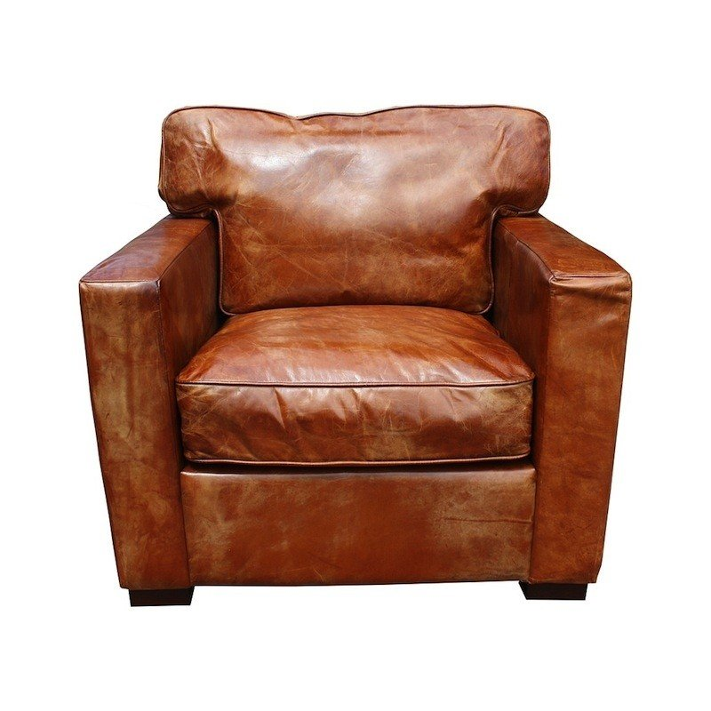 Cheap leather armchair