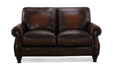 image Charlie Leather Loveseat