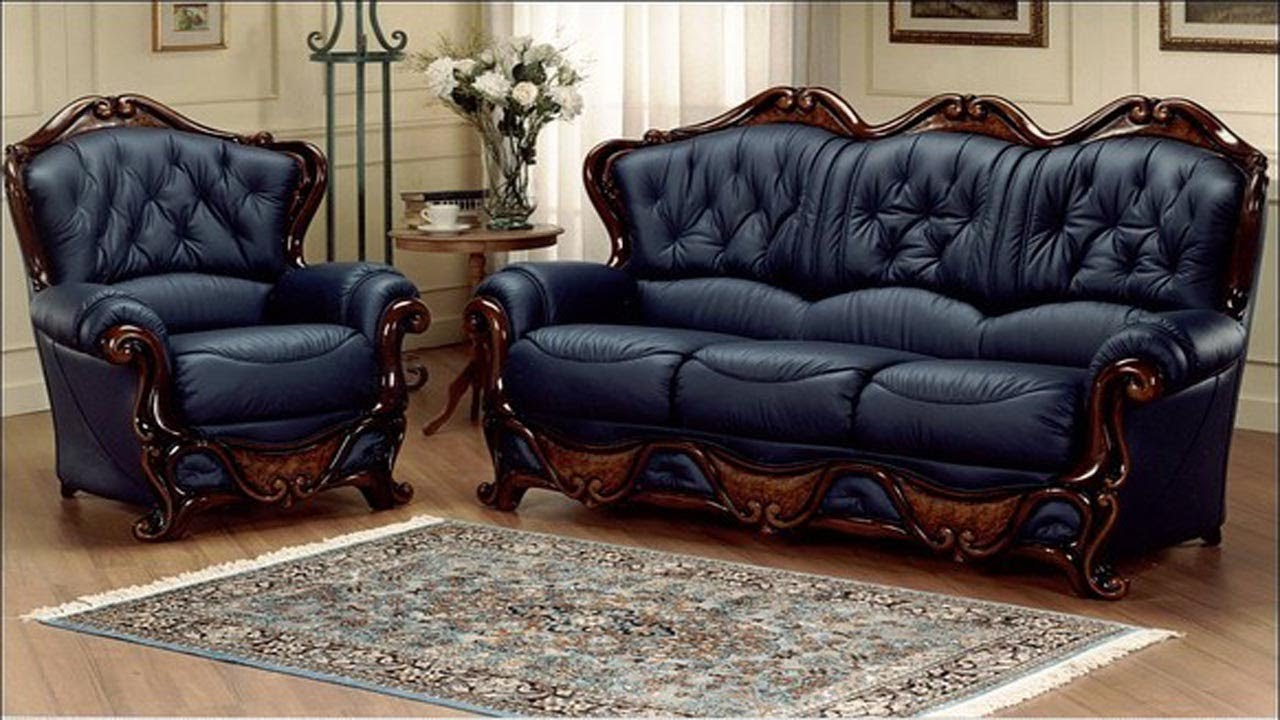 Leather Sofa Set Designs For Living Room Ideas In India | Leather Couch  latest