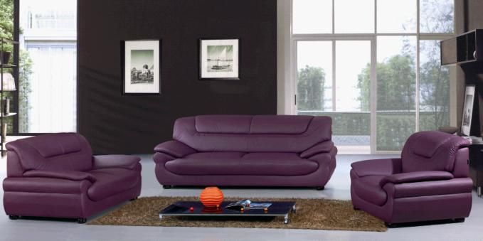 Luxury leather sofa sets designs.