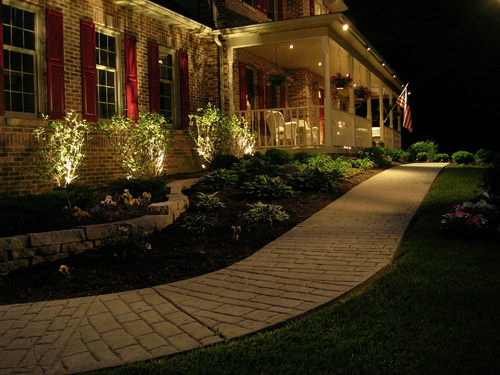Landscaping Lights Led Dayton Led Landscape Lighting The Site Group  Dayton Led Landscape Lighting The Site