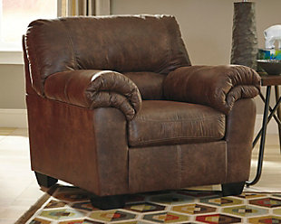 large Bladen Chair, Coffee, rollover