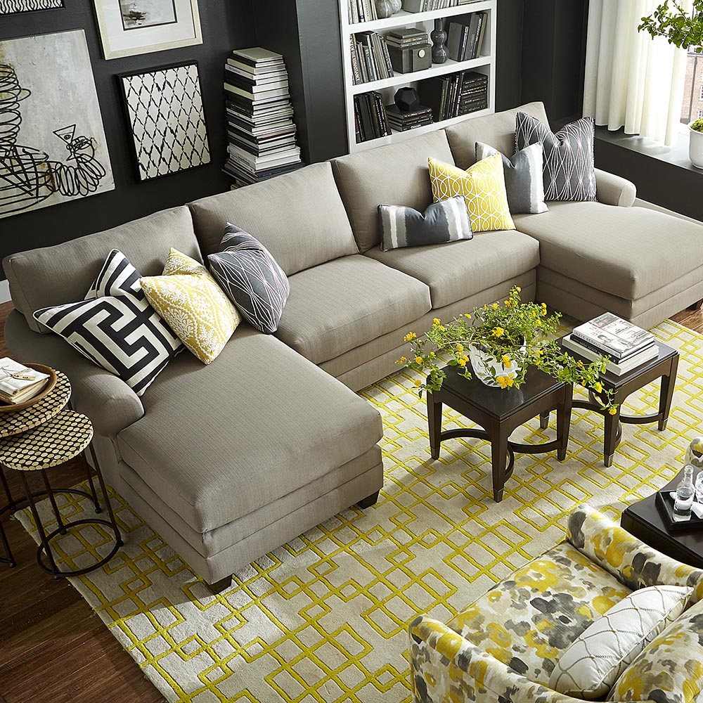Double Chaise Sectional; Double Chaise Sectional