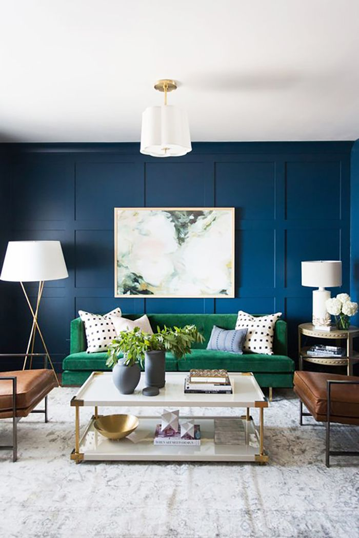 Grab a Roller: These Are the Best Small Living Room Paint Colors