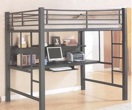 Coaster Fine Furniture 460023 Loft Bed with Desk (Workstation)