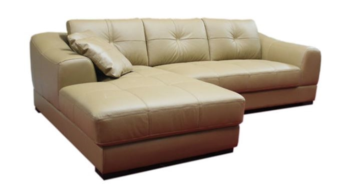 Seriena 2 piece sectional sofa, Creamy white sectional sofa, leather  sectionals, Loveseat,