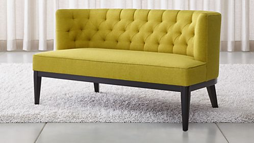 Grayson Tufted Settee