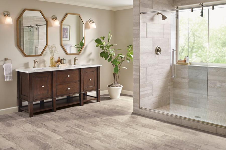 bathroom flooring in vinyl sheet - B6325 Duality Premium Collection
