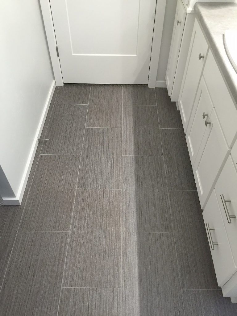 Luxury Vinyl Tile: Alterna 12x24 in Urban Gallery - Loft Grey or other  color for computer room