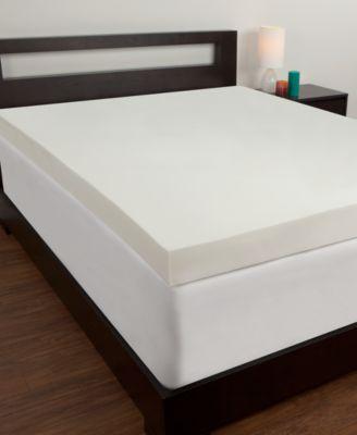 Comfort Revolution 4' Memory Foam Mattress Toppers