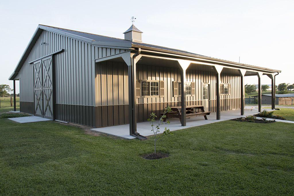 Metal Building Homes Interior 4