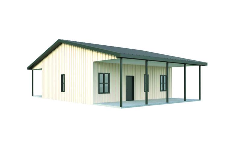 30x30 Metal Home
