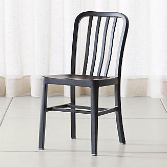 Delta Matte Black Dining Chair