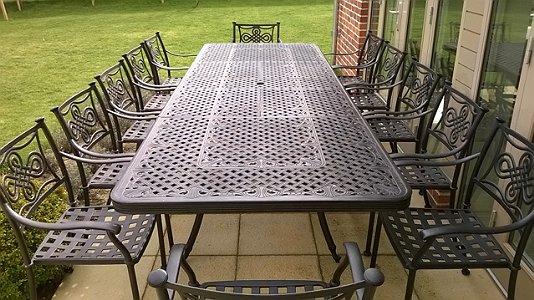 Buying Metal Garden Furniture - what aluminium furniture should you