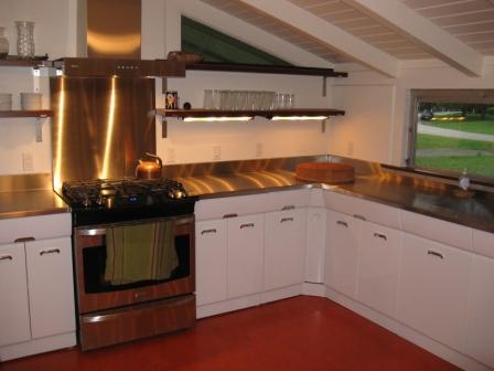 Garth and Martha had their vintage Crosley kitchen cabinets