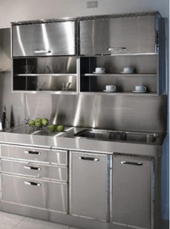 retro metal kitchen cabinets