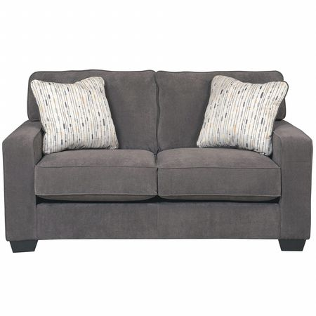 Flash Furniture Marble Microfiber Loveseat FSD-7979LS-MBL-GG | Zoro.com